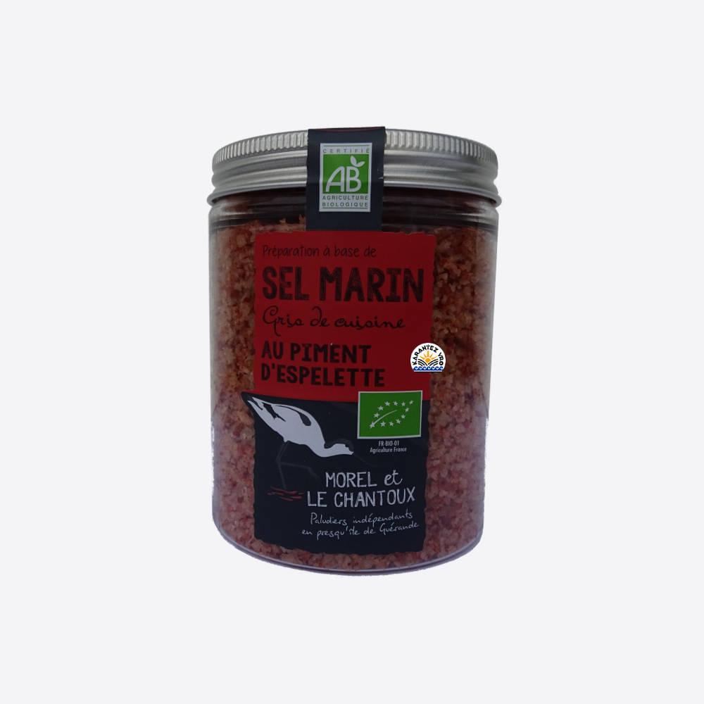 Sel de Guérande au piment d'Espelette