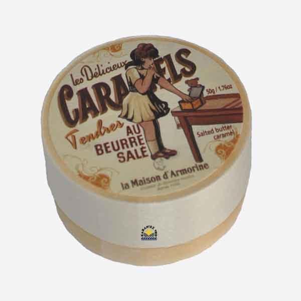 Caramels tendres au beurre salé